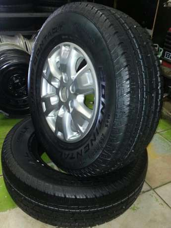 Ford Ranger mags 16 inch with tyres Continental 255/70R16C set of four Pretoria West - image 2