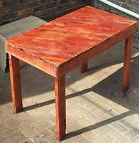 Pallet Wood Table. New