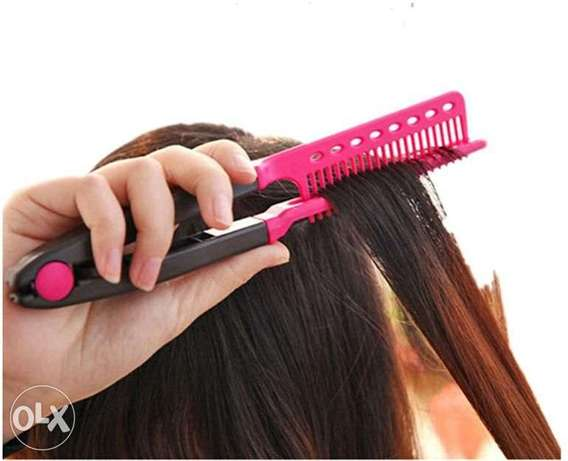 Bosideng Straight Hair Comb Brush Tool For Dry Iron Hair Curl to Strai