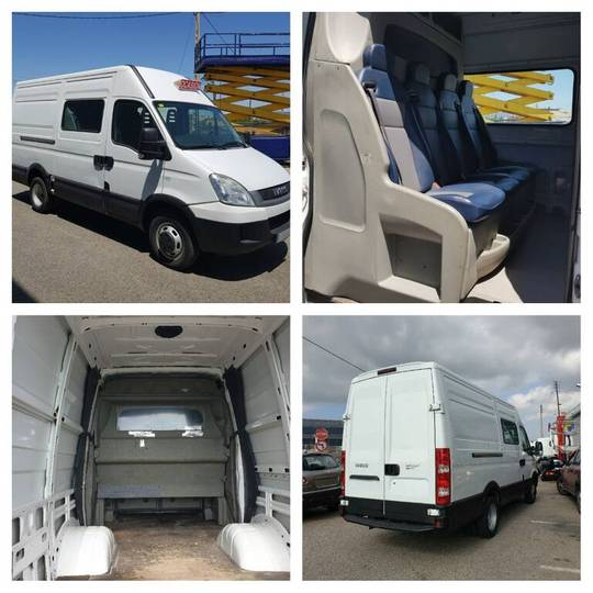 Iveco daily 35c13 2.3 hpi 7 seats (ford transit-fiat) - 2011
