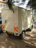 TATA Pickup with steel body, good in fuel, Diesel engine, 700cc