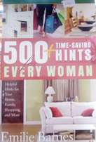 500 + Time Saving Hints for Every Woman
