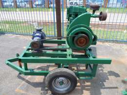 Lister Engine and Water Pump on Trailer R16500 Call Geraldene Now