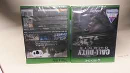 Call of Duty: Ghosts XBOX ONE.