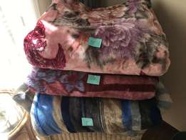 Bedding items, ie. blankets, sheets, etc