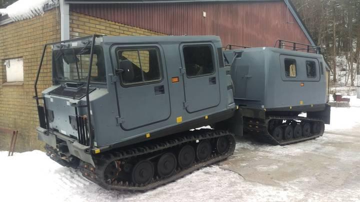 Hagglunds BV206 D6 snow groomer - 1988