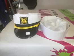 We sell pilot,police & naval officer caps for costume parties.