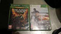 Gears of war for R150 and battlefield 4 for 200