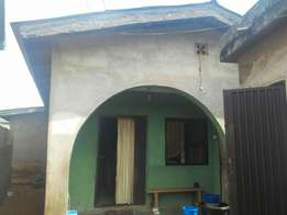 3bedroomflat nd shop for sale at igando.