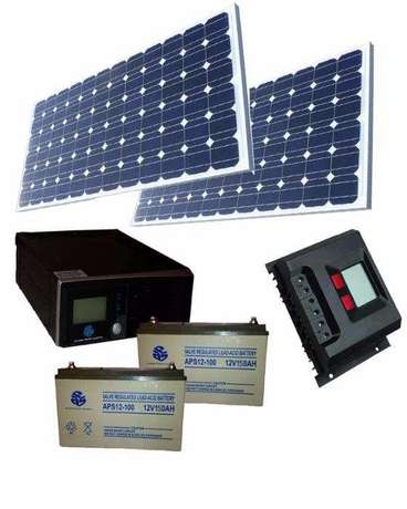 Complete solar energy system - 24 Hours up time Lagos Island East - image 2
