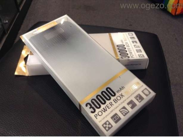 Proda 30000mah power bank,1 yr warranty:free delivery Nairobi CBD - image 1
