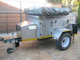 Griffin Offroad Trailer (Stainless Steel)
