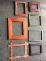 Picture frames - over 100 items (different varieties)