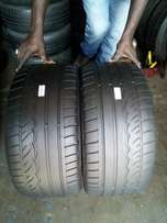 275/35/19 Dunlop tyres for sell