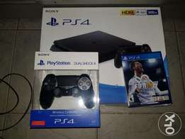 ps4 2 pads and fifa 18 bundle new
