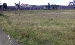 Plot for sale in pipeline mirugi's area