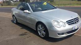 Mercedes Benz CLK 350 Cabriolet 7sp