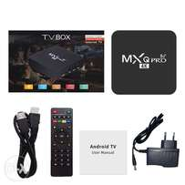 MXQ Pro 2020 Version Android 10.1 TV Box Ram 4GB ROM 32GB and 5G