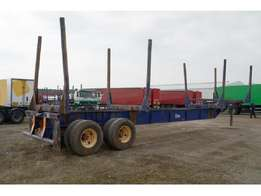 Stemco Steel Suspension,Double For Wood Transport 2 Axle