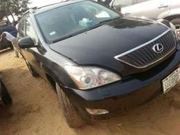 Perfectly used lexus rx330 05 fuloption tincan cleared