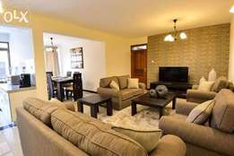 Executive spacious 3 bedroom fully furnished apartment with pool