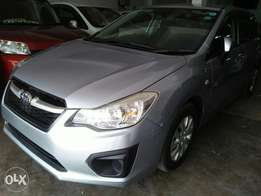 Subaru Impreza Newshape 2013 model