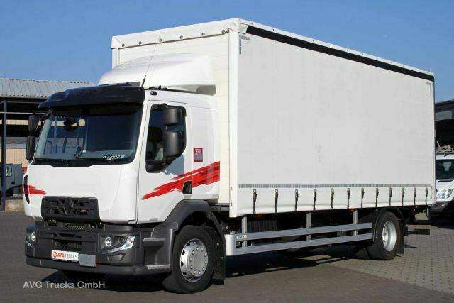 Renault D 18 High 280 E6 Schiebeplane,2 T Lbw,global Cab - 2017