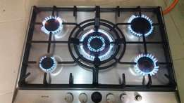 Bosch 5 burners stainless gas hob
