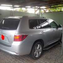 Registered Toyota Highlander for sale