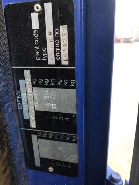 DAF 1900 Turbo, Blatt / Blatt, Schaltgetriebe - 1993 - image 15