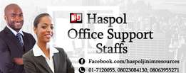 We Recruit Professionals Office Administrative Staff For Organisation.