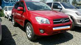 Clean wine red Toyota Rav4 SUV 2.4L/2009model.Buy on hire-purchase!