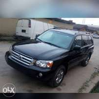 Affordable 2007 Toyota Highlander Sport(3Row Seater/Grade One Tokunbo)