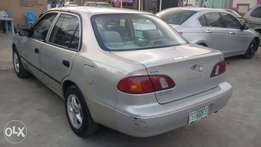 Registered Toyota Corolla 2000model first paint