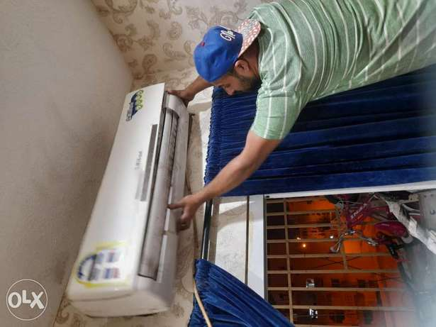 Is Town service and repairs ac refrigerator washing machine