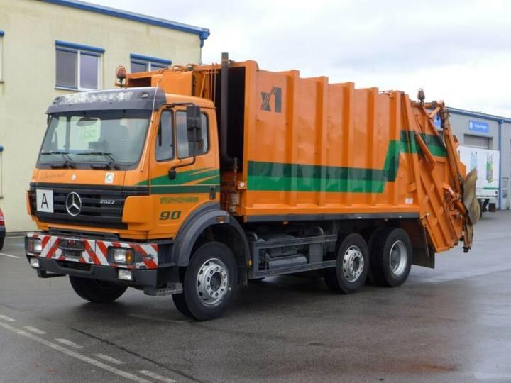 Mercedes-Benz 2527 L*Euro 2*6x2*Müllwagen* - 1995