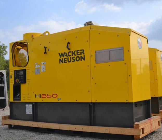 Wacker Neuson HI 260 Tank Heizgerät Neu / Heater Unused - 2015