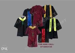 Kids Graduation gowns for hire