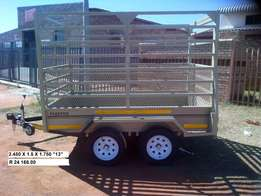 2.450/1.5/1.750m Brand new Cattle Trailers 4 sale, Papers included