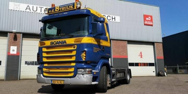 Scania R440 2009 MANUEL RETARDER - 2009
