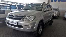 2007 Toyota Fortuner 3.0 D4-D 4x4