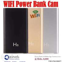 H8 Wi-fi Spy Camera in Power Bank (2 in 1)