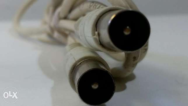 Origenal White RF Cable