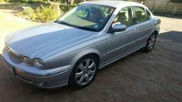 Jaguar X type in pristine condition
