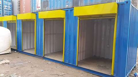 40 ft Containerized Stalls for Sale Ruiru - image 1