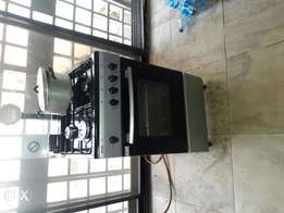 gas cooker standing