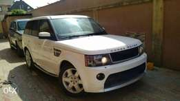 2008 upgraded to 2012 Range Rover Sport