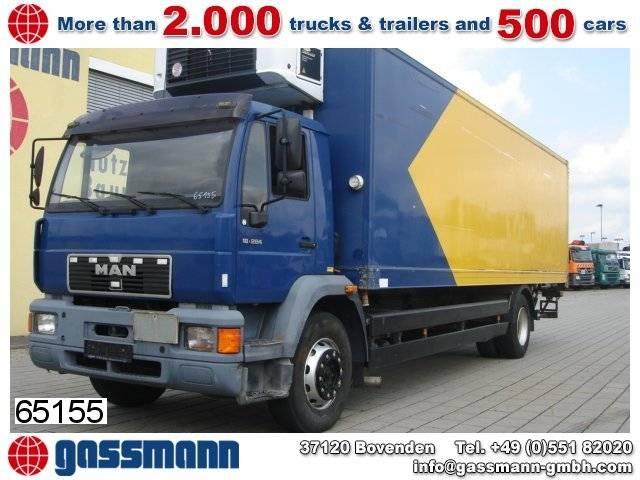 Carrier man 18.284 l kühlkoffer/lbw,  strom/diesel - 1999