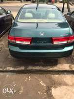 2004 Model Honda Accord. Tokunbo