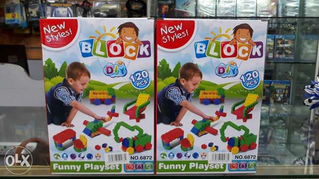 new styles block 120pcs for kids play for sell